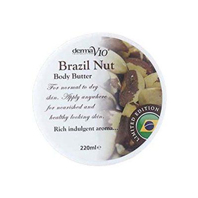 Derma V10 Body Butter Brazil Nut– 220ml