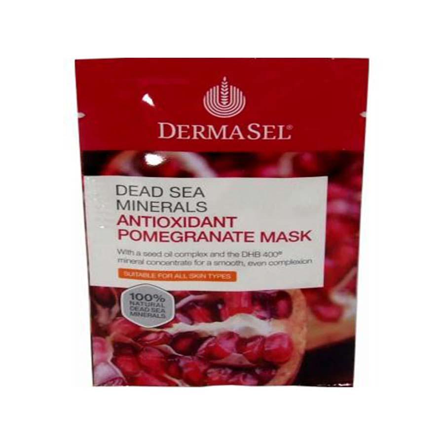 Dermasel Dead Sea Minerals Antioxidant Pomegranate Mask 12Ml