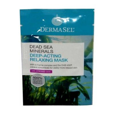 Dermasel Dead Sea Minerals Deep Acting Relaxing Mask 12Ml