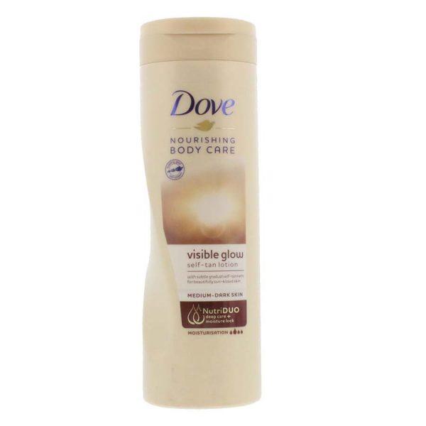 Dove Visible Glow Self Tan Lotion Fair to Medium – 400Ml
