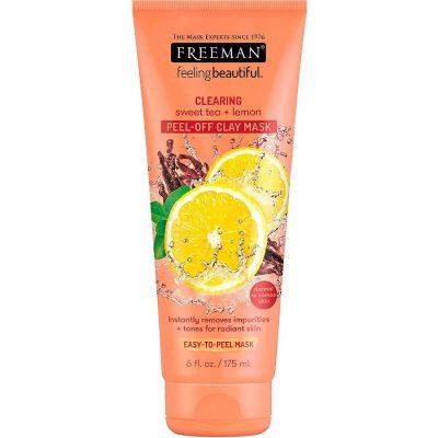 Freeman Clearing Sweet Tea + Lemon Peel-Off Clay Mask 175Ml