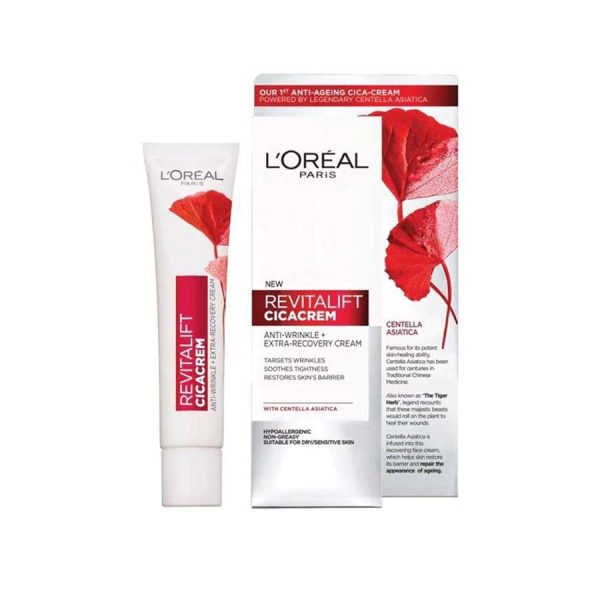 'Oreal New Re-vitalift Extra-Recovery CICA Cream 40Ml