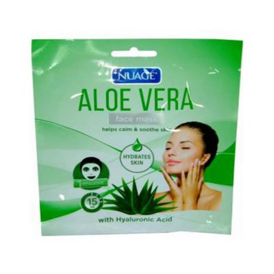 Nuage Face Mask Aloe Vera with Hyaluronic Acid - 1 Application