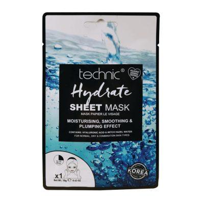 Technic Hydrate Sheet Mask 1 Application - 18g
