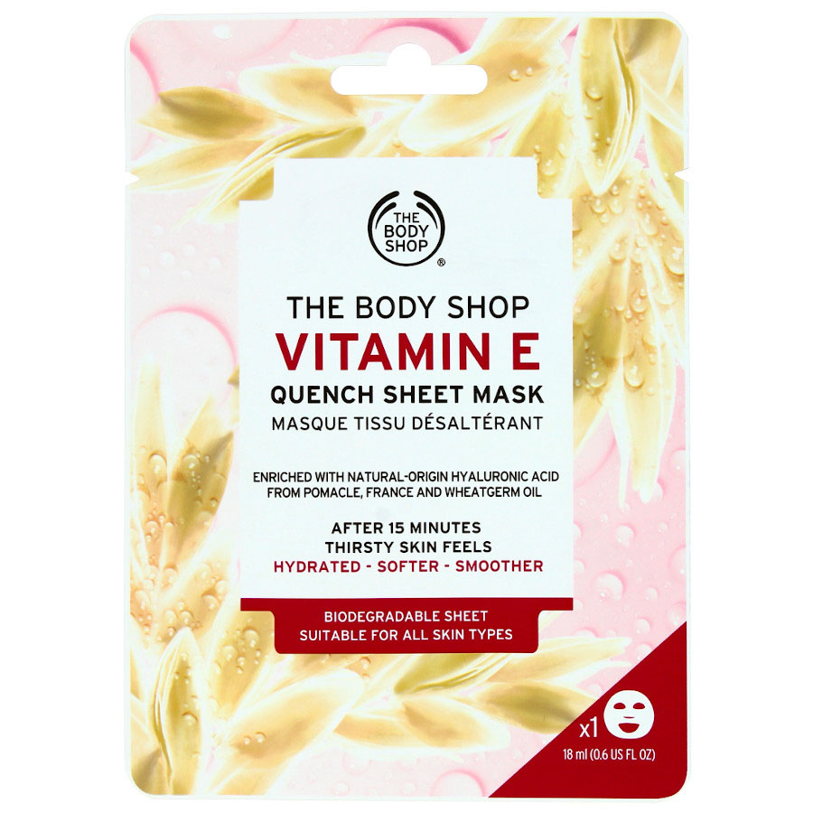 The Body Shop Vitamin E Quench Sheet Mask -18Ml