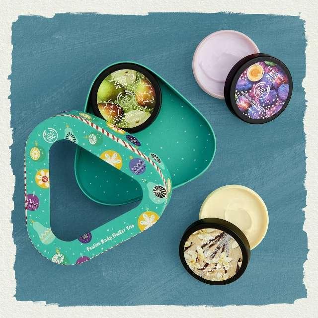 The Body Shop - Festive Body Butter Trio 1 Piece – 50Ml Each