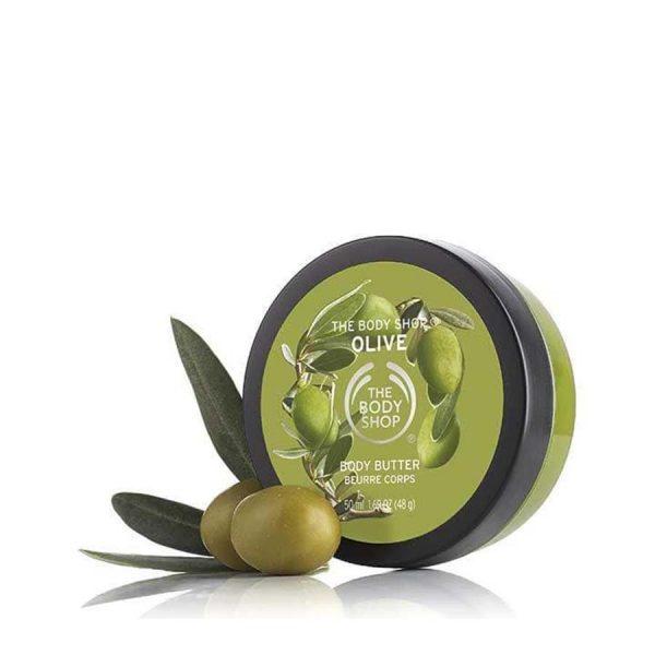 The Body Shop Olive Nourishing Body Butter - 50Ml
