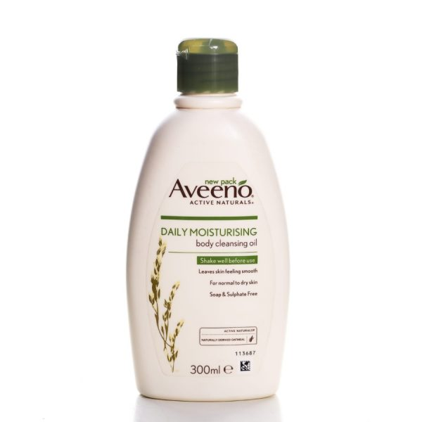 Aveeno Daily Moisturising Body Cleansing Oil 300Ml