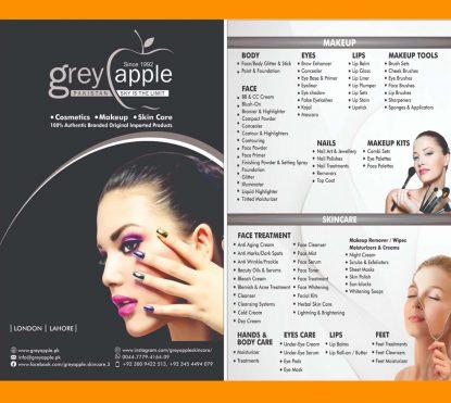 Grey Apple Banner