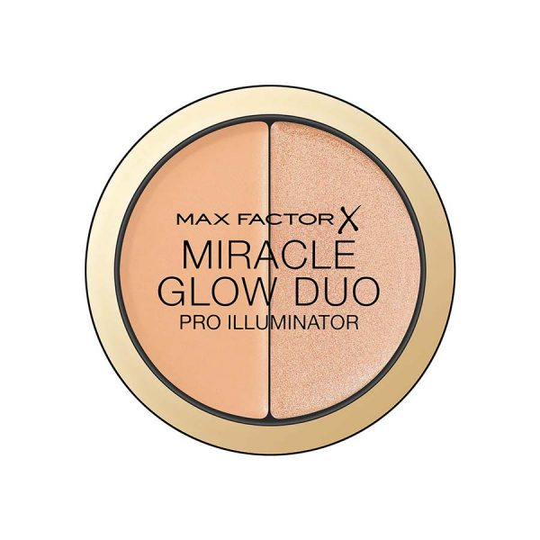 Max Factor Miracle Glow Duo Highlighter - 20 Medium (11g)