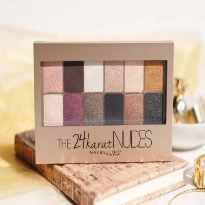 Maybelline The 24karat Nudes Eyeshadow Palette 90g