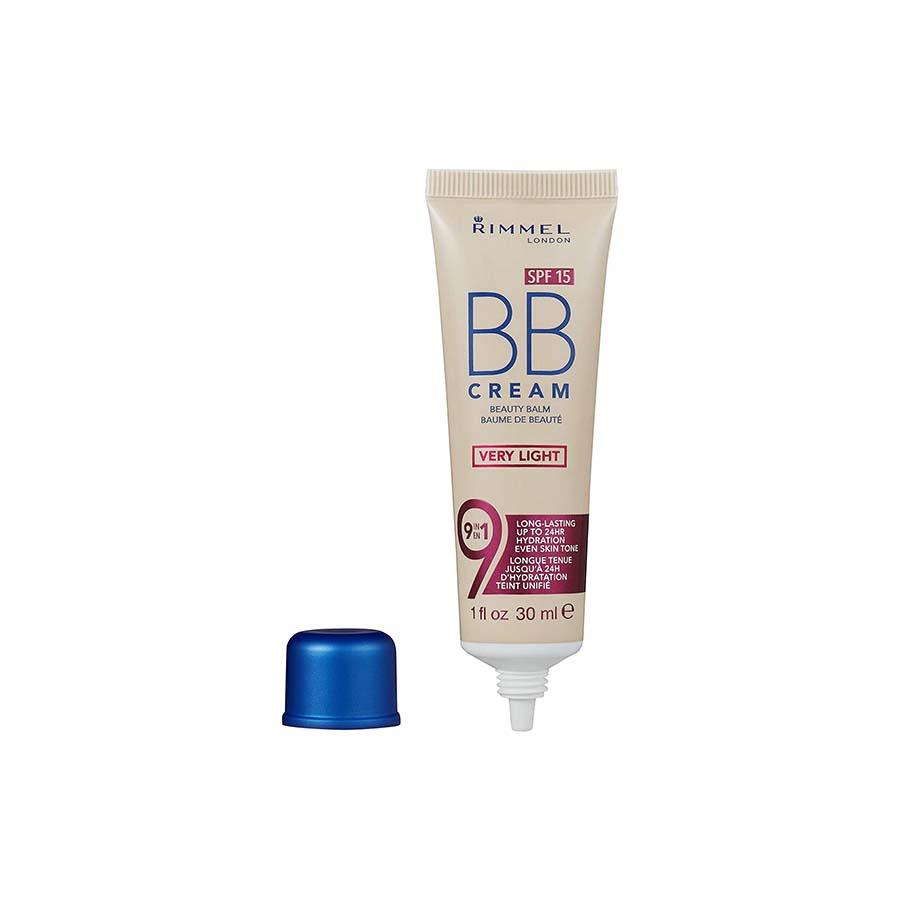 Rimmel SPF 15 BB Cream Beauty Balm Very Light – 30Ml