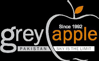 grey apple logo_footer