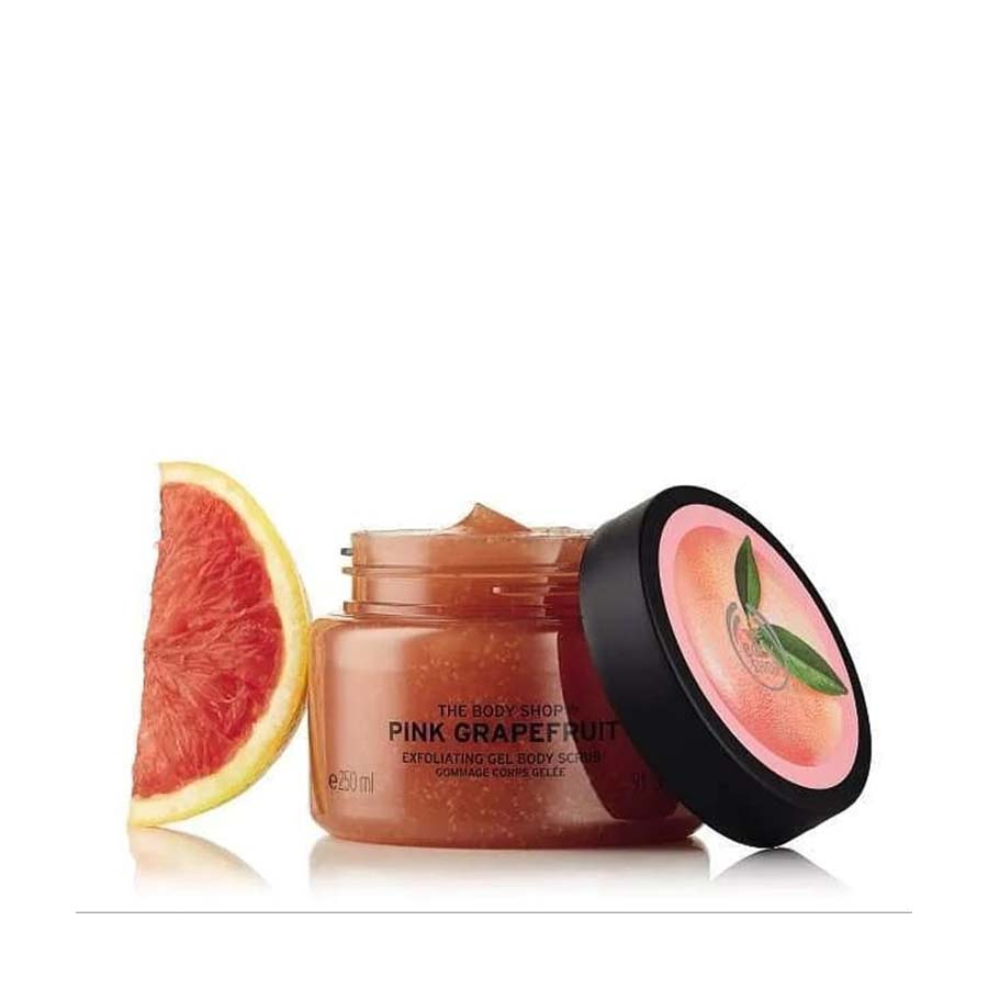 The Body Shop Pink Grapefruit Exfoliating Gel Body Scrub – 50Ml