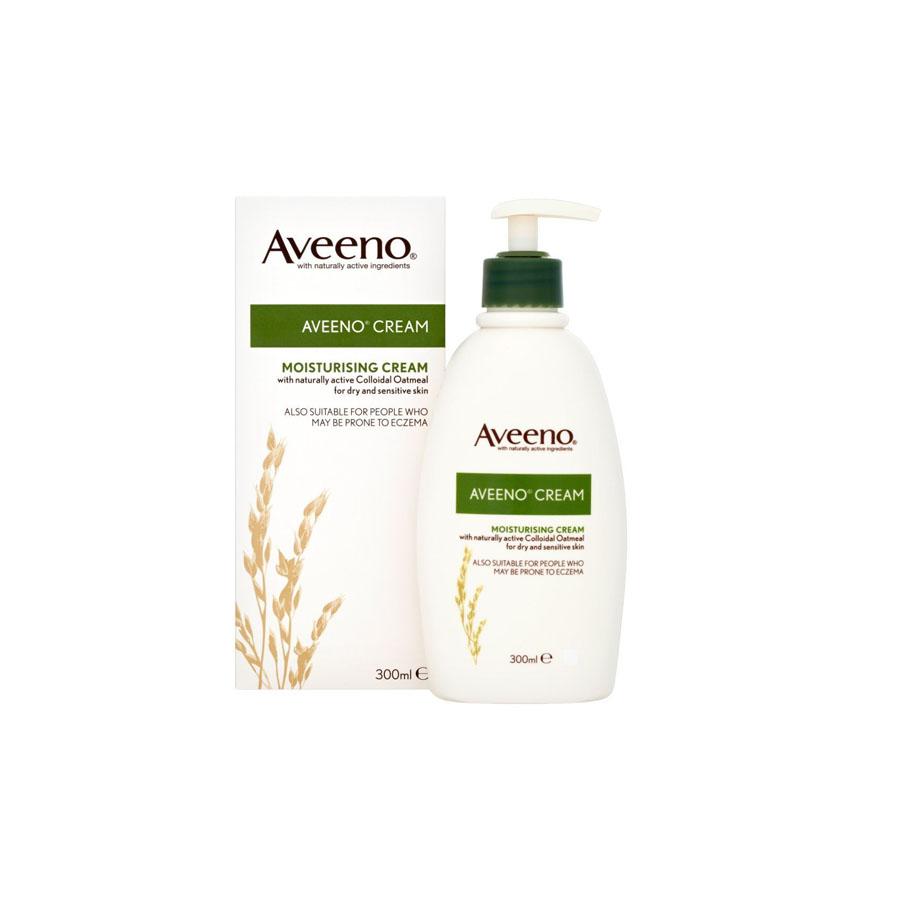 Aveeno Cream Moisturising With Colloidal Oatmeal 300Ml