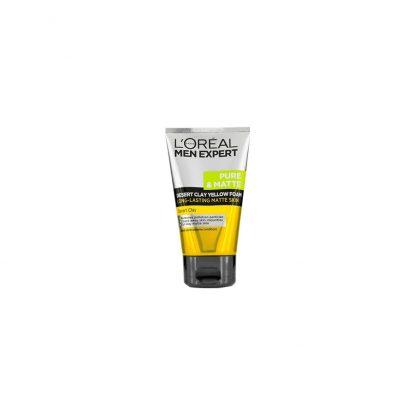 L'Oreal Men Expert Pure and Matte Desert Clay Yellow Foam