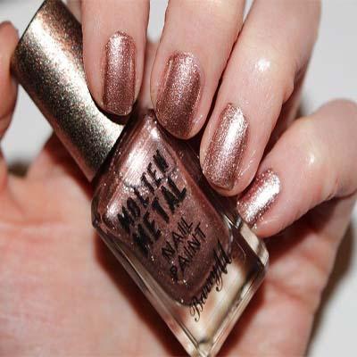 Barry M Molten Metal Nail Polish Copper
