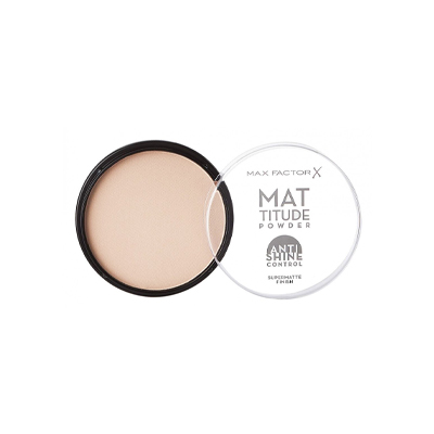 Max Factor Mattitude Compact Powder Ivory 001