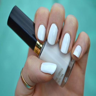 Revlon Nail Polish White On White