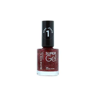 Rimmel Super Gel Nail Polish Sleigh Mam 078