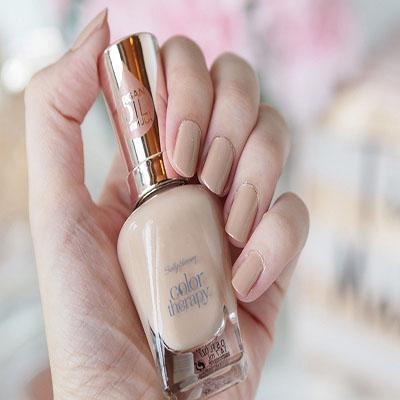 Sally Hansen Salon Manicure Nail Polish Chai