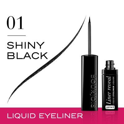 Bourjois Reveal Liquid Eye Liner Black